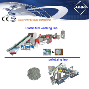 pp/pe film recycling line