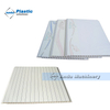 hot sale pvc ceiling groove wall panel production line in Pakistan