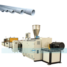 twin screw PVC pipe machine