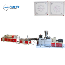PVC ceiling tiles extruder machines