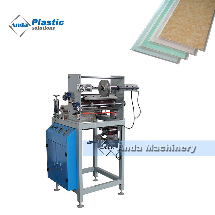 300mm hot stamping machine for pvc ceiling panel