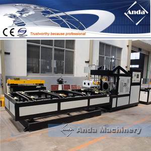 pvc pp pipe belling machine