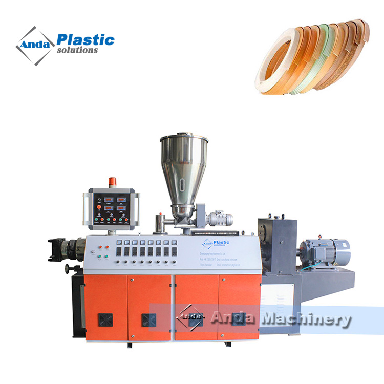 PVC Edge Band Production Line with Calender Cooling