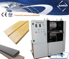 wood plastic wpc embossing machine