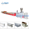 SJSZ65/132 PVC window profile production line