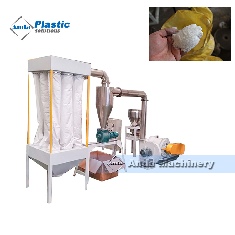Hot Sale Pvc Pulverizer Machine