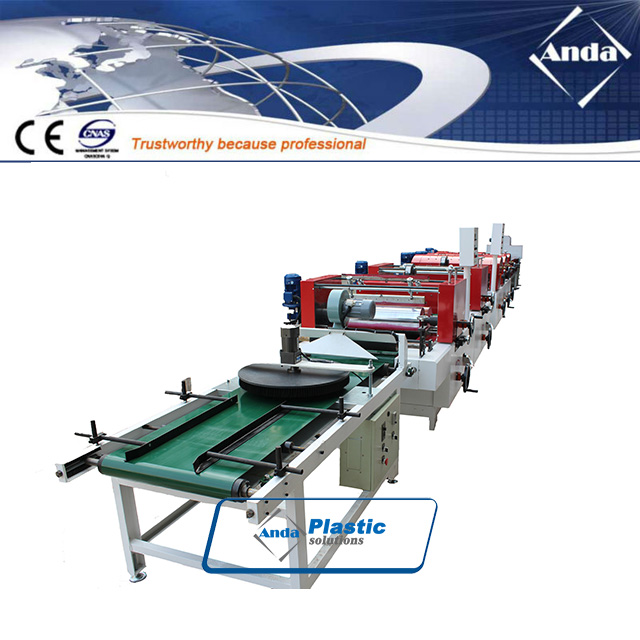two color printing and UV coating line for PVC ceiling panel