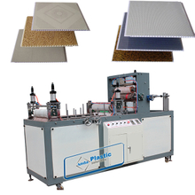 Hot stamp printing machine for the pvc ceiling panels