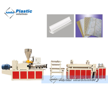 PVC ceiling panel making machine / extrusion line / production line