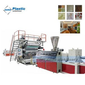 artificial PVC marble stone sheet making machine