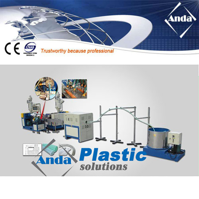 PVC suction hose extrusion line