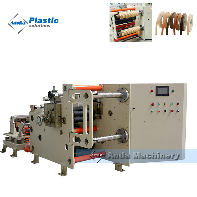 PVC Edge Band production Line with twin screw extruder