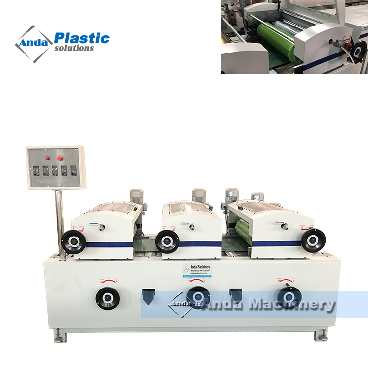 600 double double color prinitng machine for PVC ceiling panel