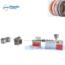 single screw pvc edge banding production extrusion line