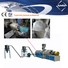 die face hot cutting PVC granulator/PVC pelletizing machine