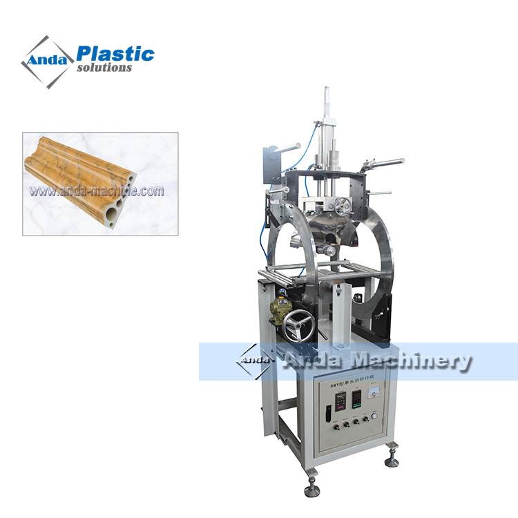 PS profile extrusion line / making machine