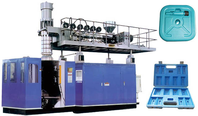 extrusion blowing machine for car spolier