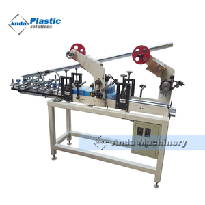 online lamination and hot stamping machine for pvc ceiling clip profile