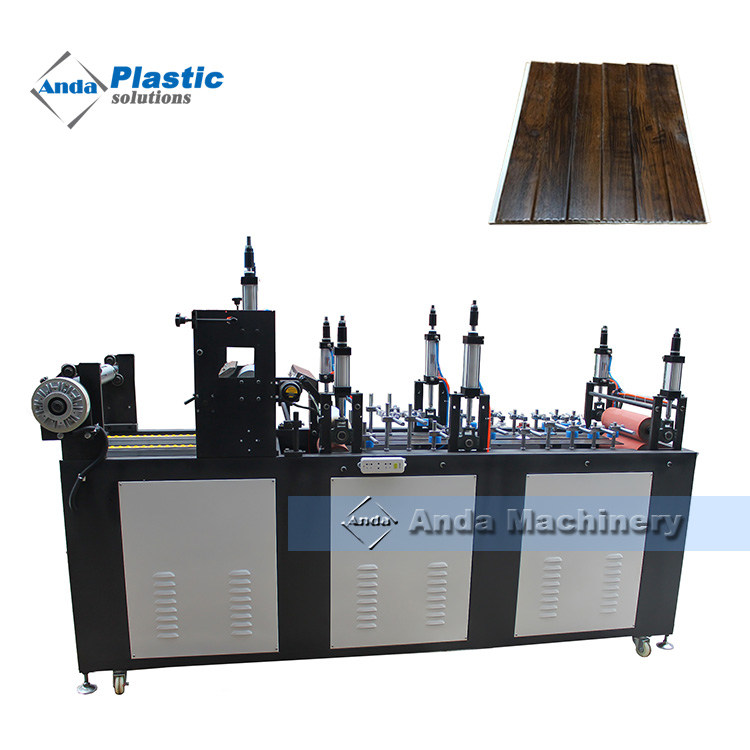 PVC wall panel extrusion machine