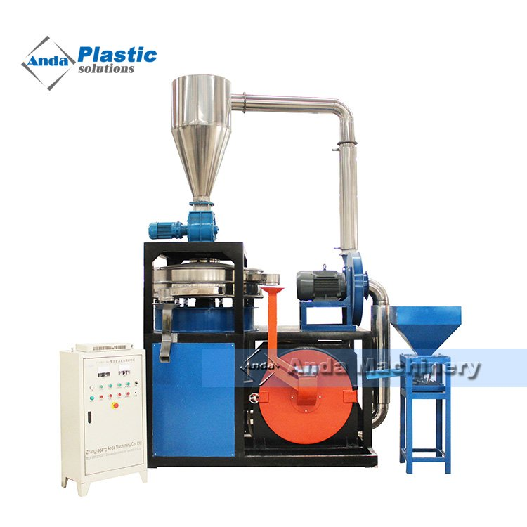 plastic pvc pulverizer for grinding pvc material