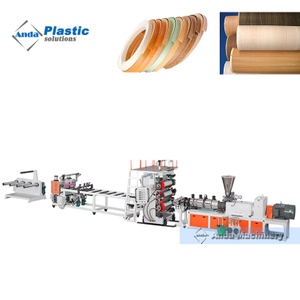 pvc edge band machine with calender cooling