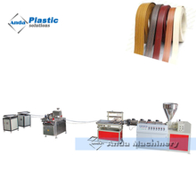 China PVC edge band making extrusion machine manufacturer