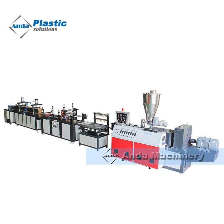 extrusion machine/line/manufacturer for produce pvc wall panel