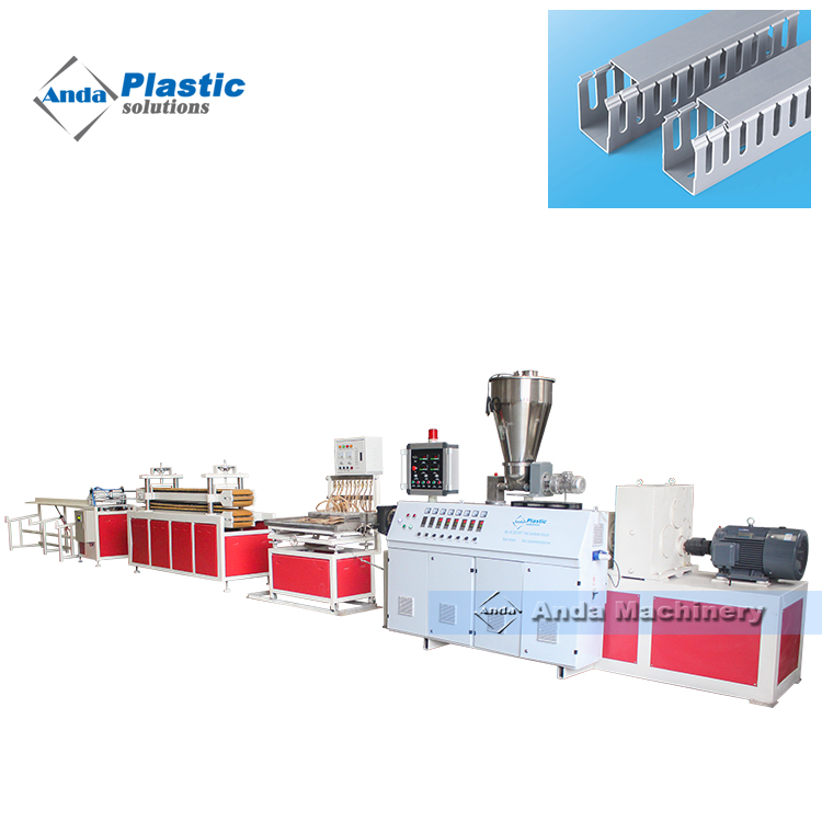 pvc cable trunking extruder machine with turnkey solution