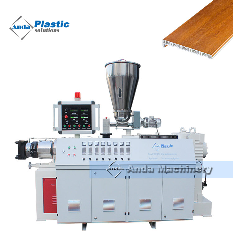 PVC window sill extruder machine with complete solutions