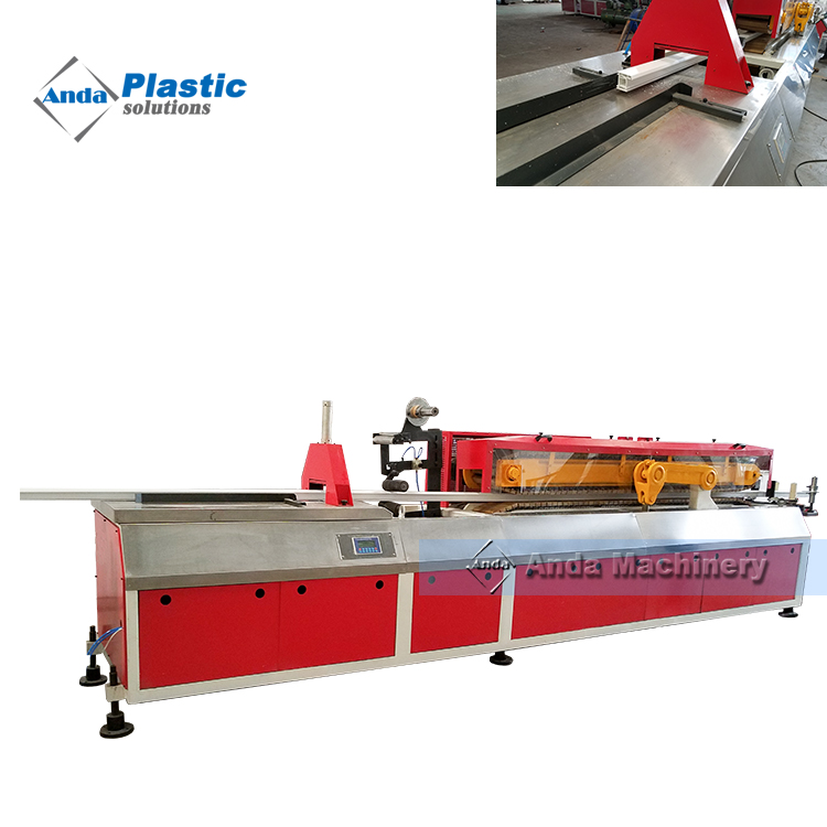 65/132 PVC window profile extrusion production line