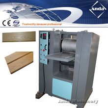 WPC embossing machine for plastic panel profile
